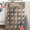 rustic style advent calendar