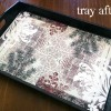 refinish a wood tray