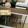 bedside table & mixed metals