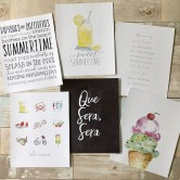 summer art prints