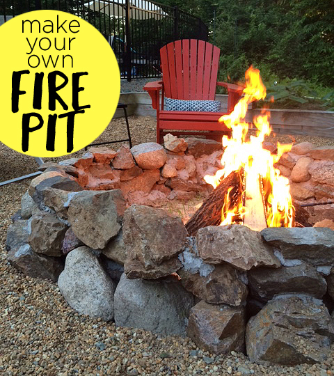 Wooded Fire Pit Area